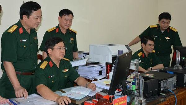 Quân đội triển khai thực hiện Đề án văn hóa công vụ