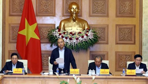 Thủ tướng chủ trì phiên họp Tiểu ban Kinh tế - Xã hội lần thứ 3