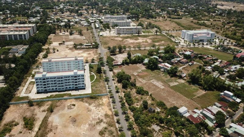 Khởi động lại dự án làng đại học lớn nhất miền Trung