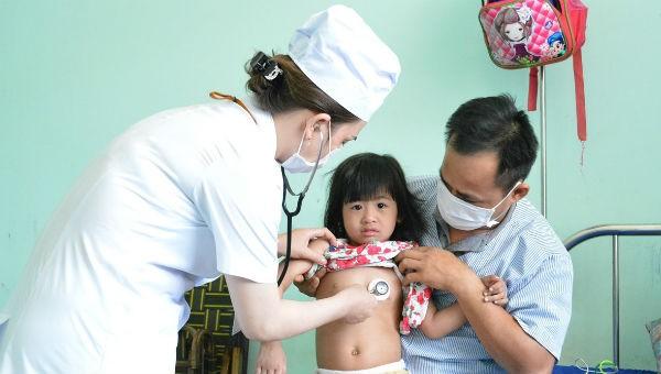 Điều trị cho bệnh nhân mắc sởi