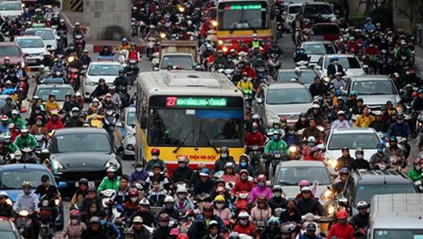 Đề xuất cấm xe máy gây tranh cãi (hình minh họa)