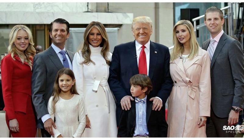 Cách Tổng thống Mỹ Donald Trump thể hiện yêu con