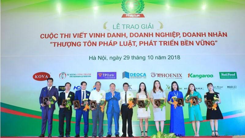 Sức lan tỏa từ Cuộc thi Vinh danh doanh nghiệp, doanh nhân 'thượng tôn pháp luật, phát triển bền vững'