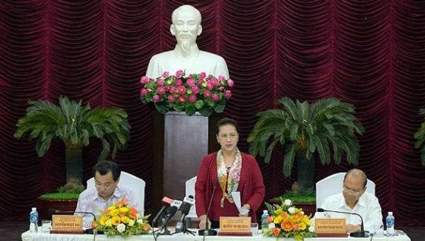 Chủ tịch Quốc hội làm việc tại Bình Thuận