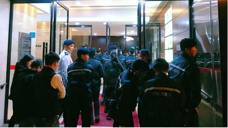 Chiến dịch truy bắt thủ lĩnh nhóm Tam hoàng Hong Kong