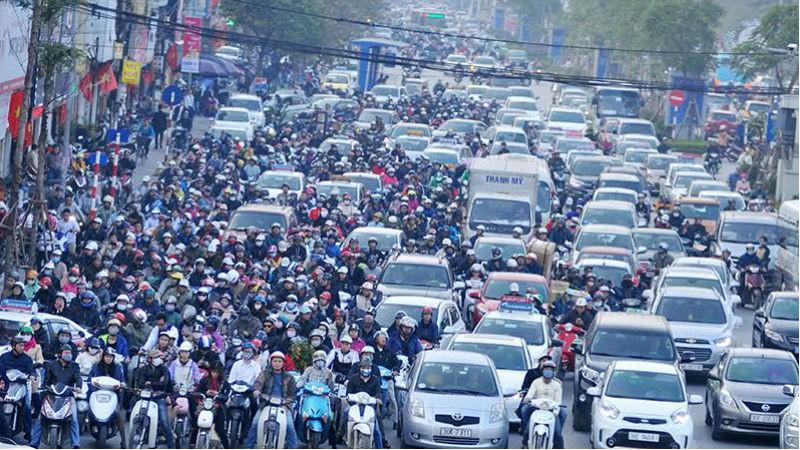 """Chuyên gia góp ý đề xuất cấm xe máy ở Hà Nội: Có thể thực hiện theo kiểu """"vết dầu loang"""""""
