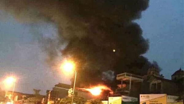 Cháy cửa hàng ở Hà Nội, 1 người thiệt mạng