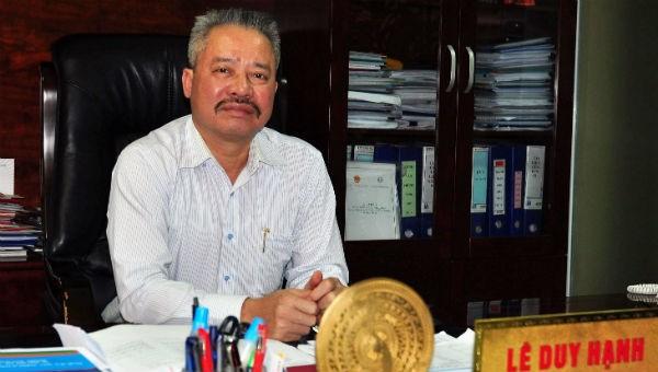 Bắt khẩn cấp Chủ tịch HĐQT công ty CP Nhiệt điện Quảng Ninh. Ông Lê Duy Hạnh