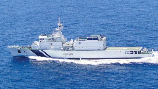 Tàu cảnh sát biển Ấn Độ sắp thăm Đà Nẵng