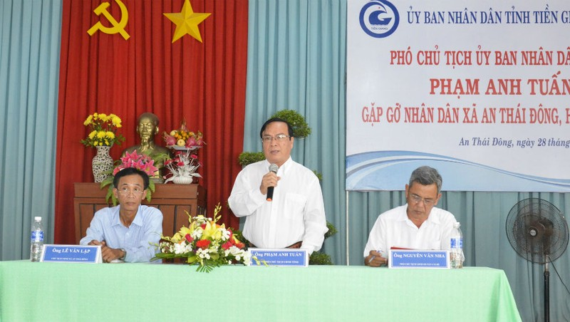Vụ lạm thu, tiểu thương bị đe dọa tại chợ Cổ Cò (Tiền Giang): Phó chủ tịch tỉnh chỉ đạo xử lý triệt để