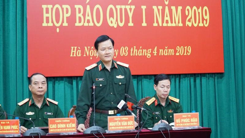 Thiếu tướng Nguyễn Văn Đức - Cục trưởng Cục Tuyên huấn, Tổng cục Chính trị, Bộ Quốc phòng