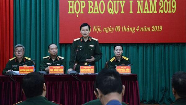 Bộ Quốc phòng công bố về loạt hoạt động sắp diễn ra