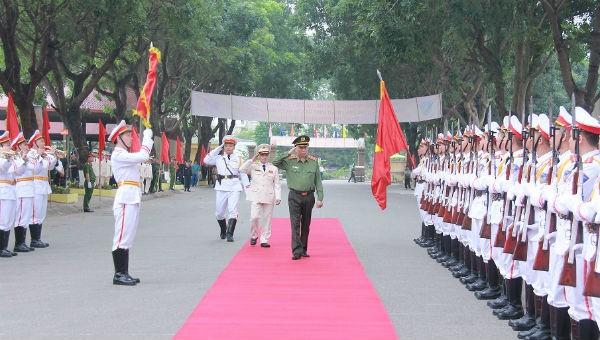 Bộ Tư lệnh Cảnh sát cơ động đón nhận phần thưởng cao quý