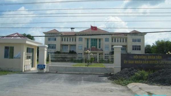 Trụ sở UBND huyện Lai Vung