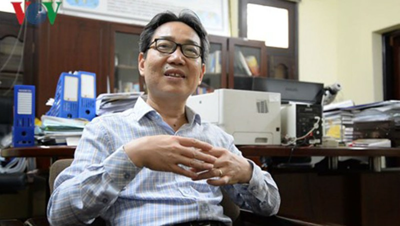 TS. Đinh Văn Minh. (Ảnh: vov.vn)