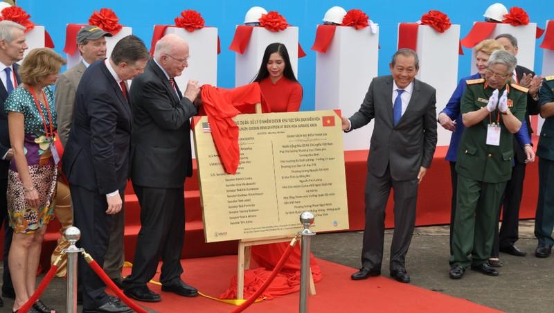 Dự án khắc phục hậu quả chất độc hóa học sau chiến tranh tại sân bay Biên Hòa chính thức được khởi động