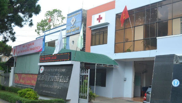 Trụ sở Hội Chữ thập đỏ Gia Lai