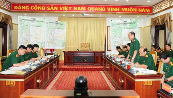 Quang cảnh hội nghị kế hoạch bảo vệ phiên họp CISM