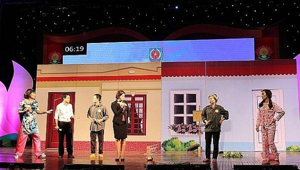Năm 2019, Hà Nội cũng sẽ tổ chức thi hòa giải viên giỏi bằng hình thức sân khấu hóa.  Ảnh minh họa.