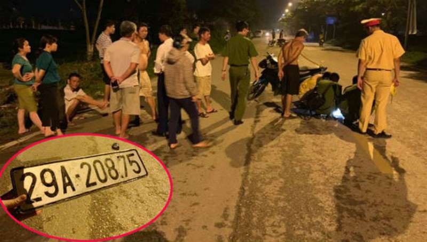Truy tìm ô tô gây tai nạn ở Hà Nội rồi bỏ trốn