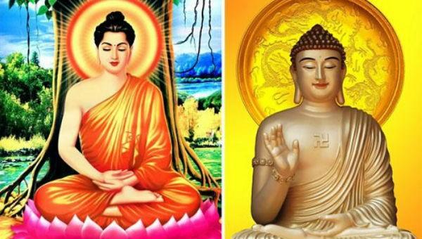 Phật Thích Ca và Phật A Di Đà