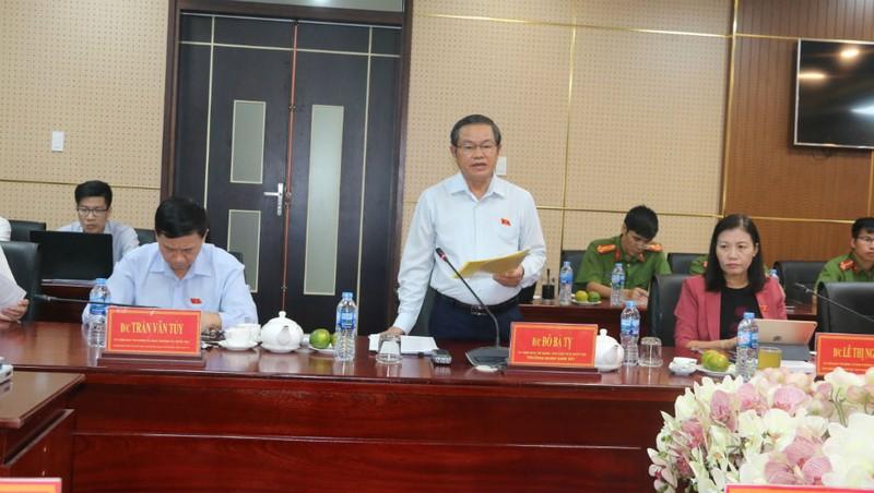 Phó Chủ tịch Quốc hội Đỗ Bá Tỵ dẫn đầu đoàn công tác của Quốc hội đã làm việc với UBND tỉnh Đồng Nai