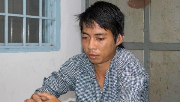 Võ Thanh Tùng tại cơ quan công an