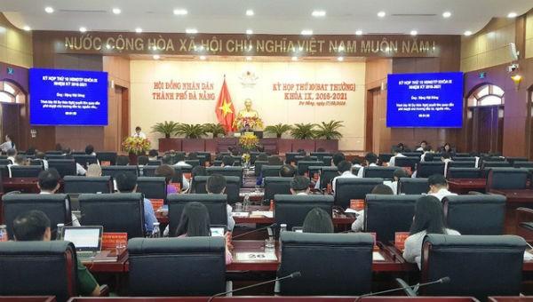 Kỳ họp bất thường của HĐND TP Đà Nẵng khóa IX.