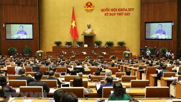 Kỳ họp thứ 7, Quốc hội khóa 14 đang diễn ra tại Hà Nội