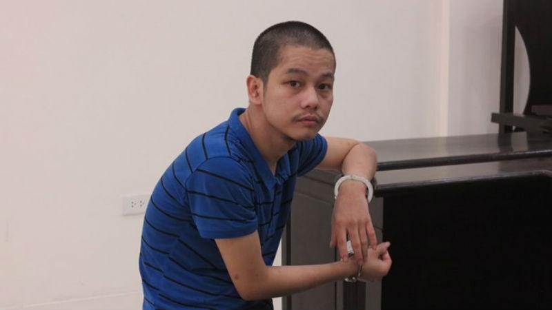 Bị cáo Dương tại tòa