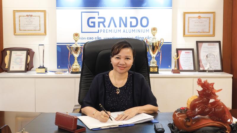 Bà Lê Ánh Tuyết, Phó Chủ tịch HĐQT Nhôm  Đô Thành