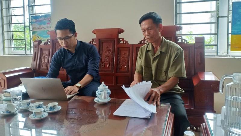 Ông Nguyễn Hữu Mỹ chia sẻ với phóng viên về sự việc.