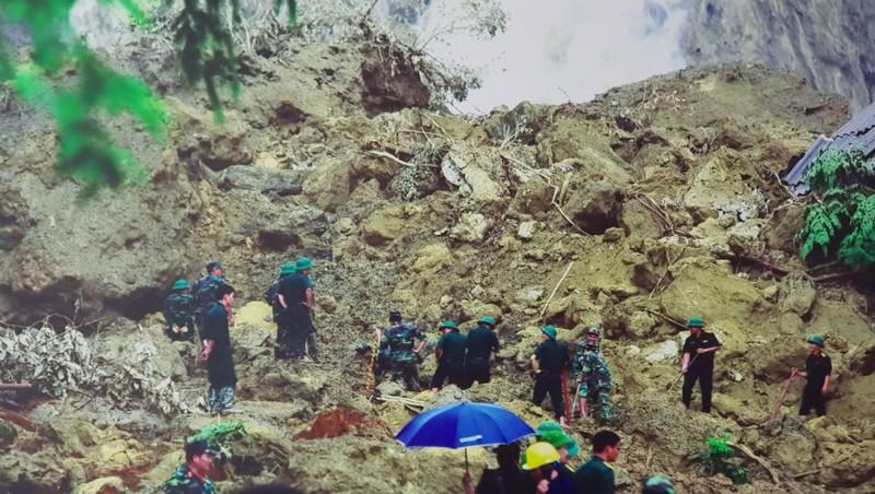 Sạt lở đất là một trong những loại hình thiên tai gây thiệt hại lớn đối với các tỉnh miền núi phía Bắc mỗi mùa mưa lũ. Ảnh: Tổng cục PCTT.
