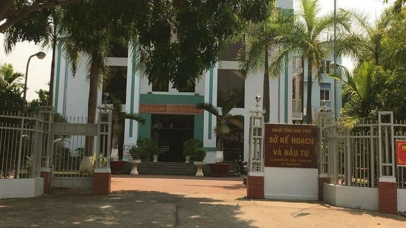 Sở Kế hoạch và Đầu tư tỉnh Kon Tum nơi bán hồ sơ mời thầu