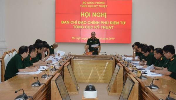 Thiếu tướng Hoàng Tiến Tùng phát biểu kết luận hội nghị.