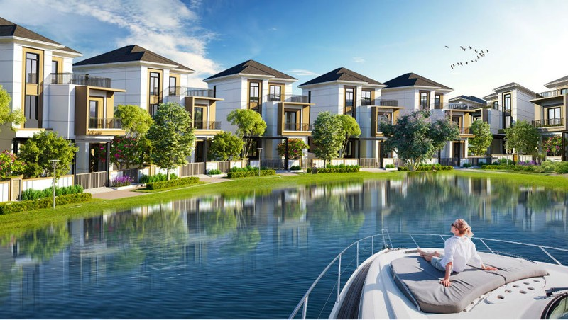 Một trong những khu đô thị sinh thái chuẩn mực - Aqua City
