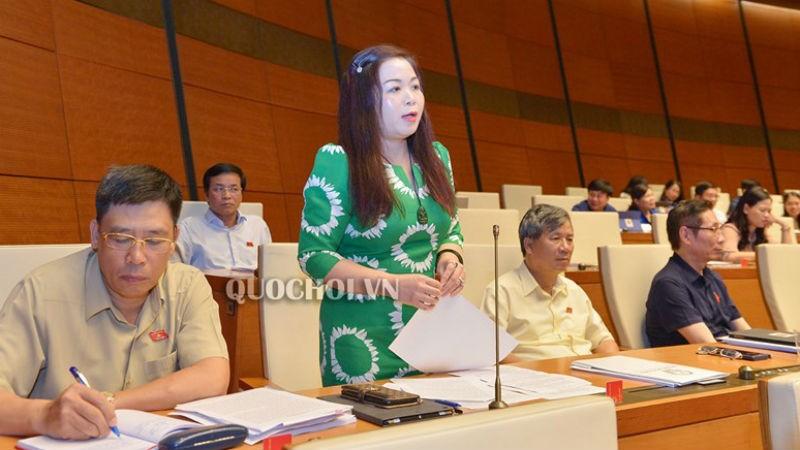 ĐB Vũ Thị Lưu Mai (Đoàn TP Hà Nội)