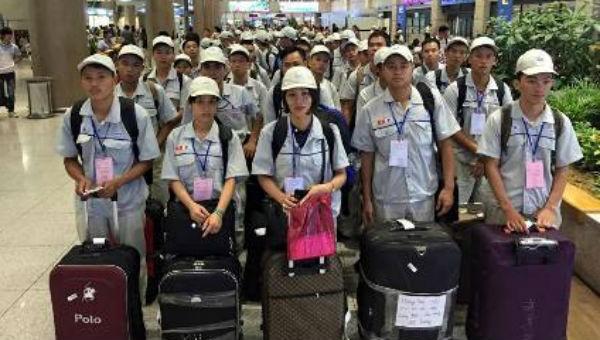 Lao động Việt Nam đi nước ngoài làm việc