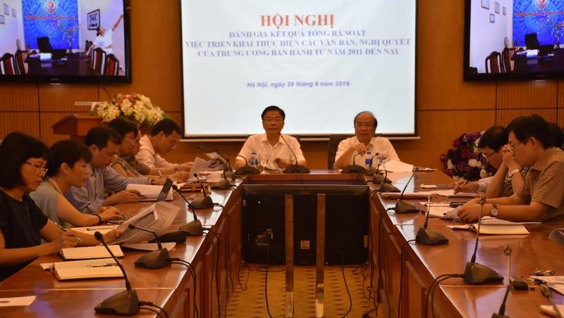 Bộ trưởng Lê Thành Long chủ trì  Hội nghị