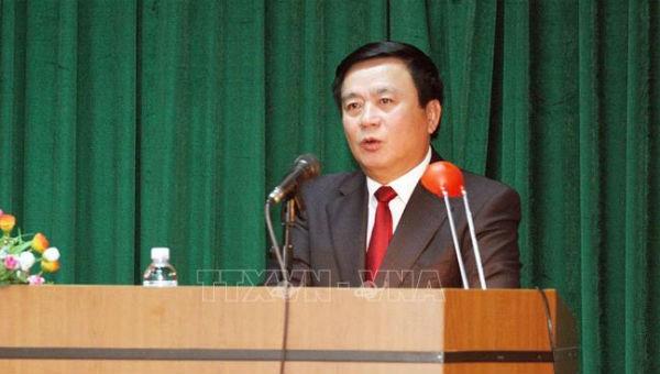 Ông Nguyễn Xuân Thắng chủ trì hội thảo