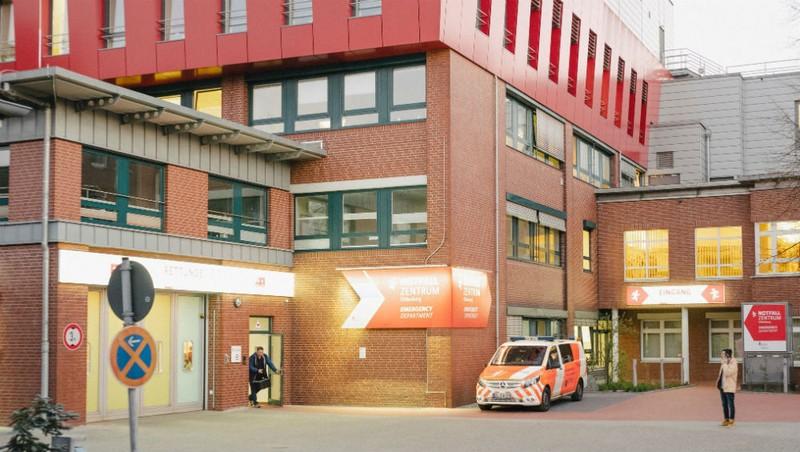 Bệnh viện nơi Niels Hoegel từng làm việc