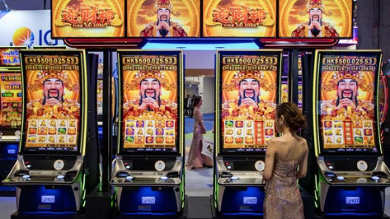 Một triển lãm cờ bạc ở Macau