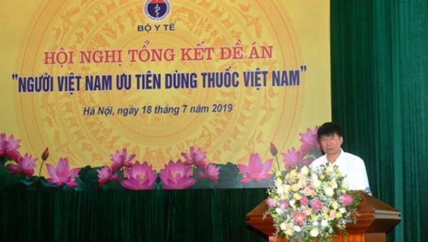 TS. Trương Quốc Cường, Thứ trưởng Bộ Y tế phát biểu tại Hội nghị
