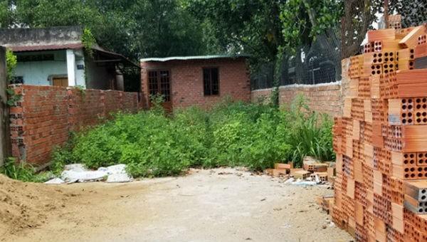 Một lối đi chung bị lấn chiếm xây nhà dẫn đến giang hồ nổ súng.