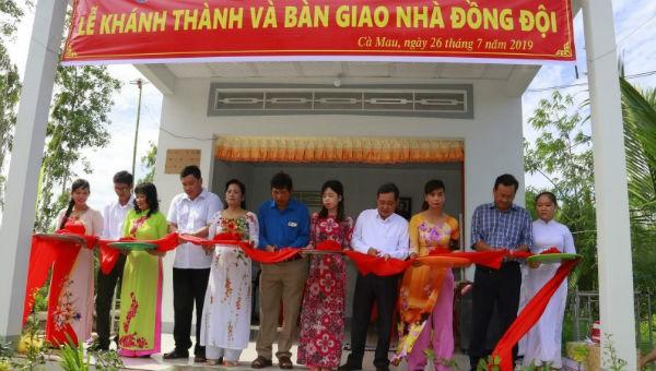 Lễ trao nhà cho gia đình Anh hùng Liệt sỹ, Nhà báo Nguyễn Mai