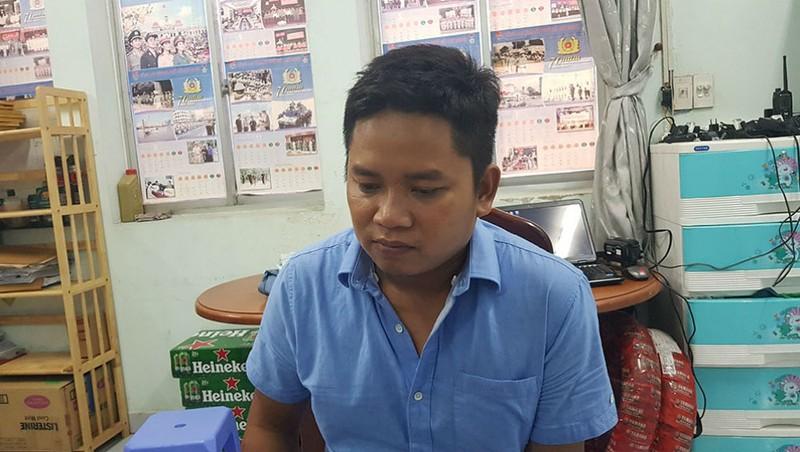 Trần Anh Vũ tại cơ quan điều tra