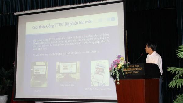 Cổng TTĐT của Bộ LĐTB&XH phiên bản mới: Nâng cao tính năng hỗ trợ cho đối tượng yếu thế