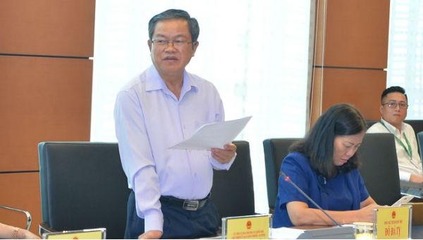 Phó Chủ tịch Quốc hội Đỗ Bá Tỵ phát biểu