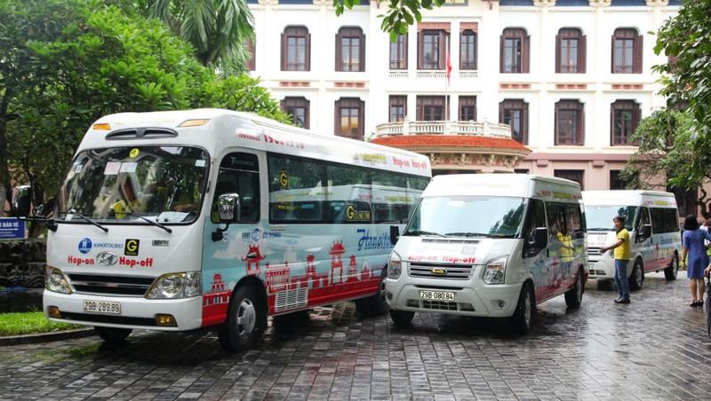 Đội xe phục vụ 'Tuyến du lịch vàng' tham quan TP Hà Nội nay đã ngừng hoạt động