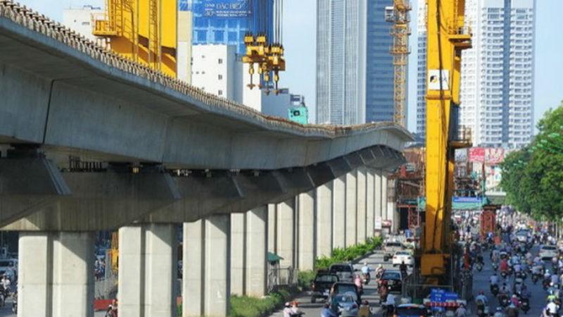 Dự án đường sắt Cát Linh - Hà Đông.